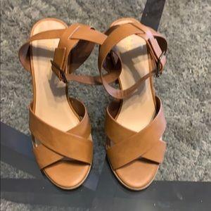City Classified block heel sandals